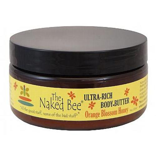 Naked Bee Body Butter 8 Oz. - Orange Blossom Honey