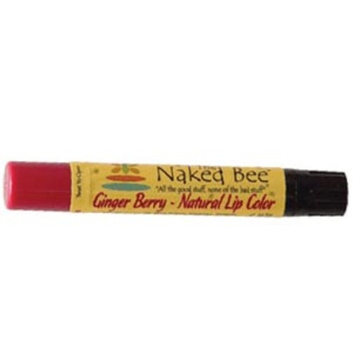 Naked Bee Lip Color - Ginger Berry