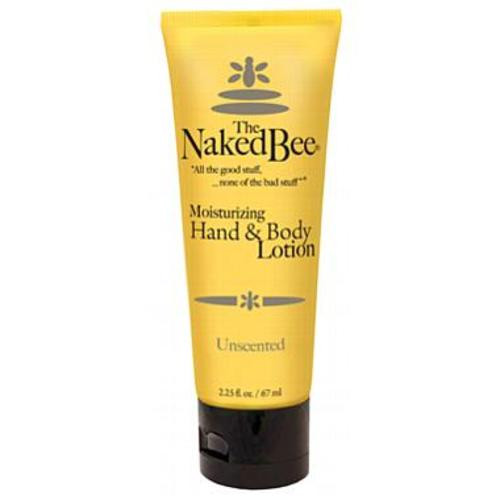Naked Bee Hand & Body Lotion 2.25 Oz. - Unscented