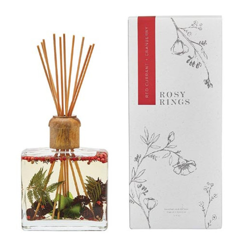 Rosy Rings Botanical Reed Diffuser 13 Oz. - Red Currant & Cranberry