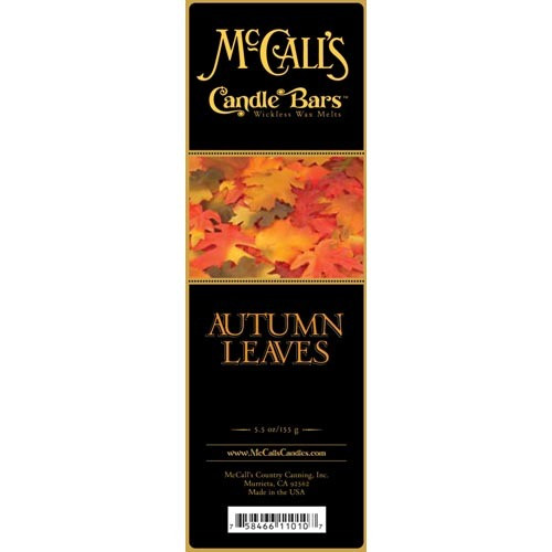 McCall's Candles Candle Bar 5.5 oz. - Autumn Leaves