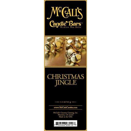 McCall's Candles Candle Bar 5.5 oz. - Christmas Jingle