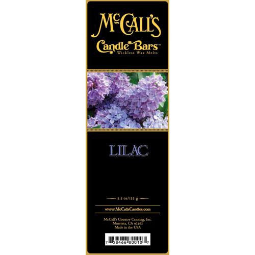 McCall's Candles Candle Bar 5.5 oz. - Lilac