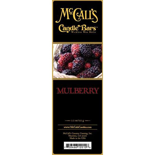 McCall's Candles Candle Bar 5.5 oz. - Mulberry