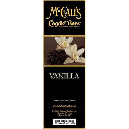 McCall's Candles Candle Bar 5.5 oz. - Vanilla