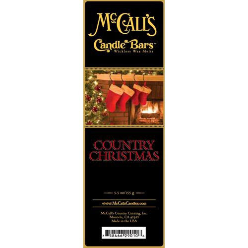 McCall's Candles Candle Bar 5.5 oz. - Country Christmas