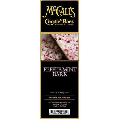 McCall's Candles Candle Bar 5.5 oz. - Peppermint Bark