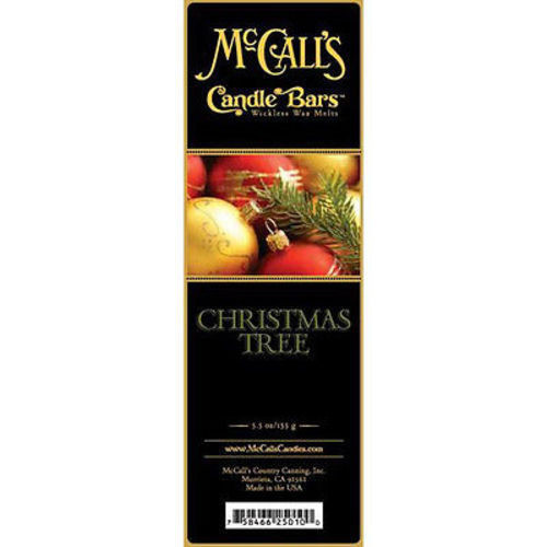 McCall's Candles Candle Bar 5.5 oz. - Christmas Tree