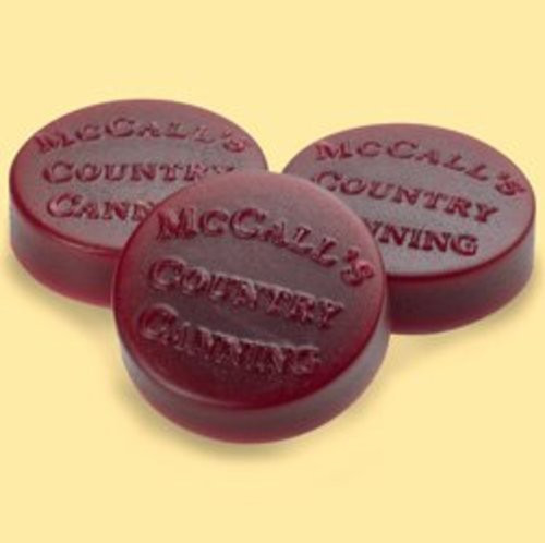 McCall's Candles Wax Melt Button Set of 6 - Chocolate & Berries
