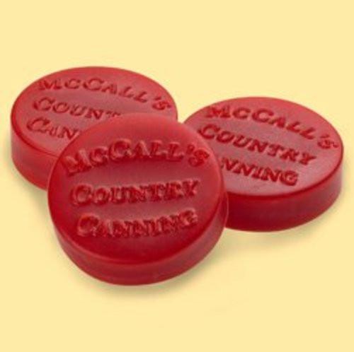 McCall's Candles Wax Melt Button Set of 6 - Fresh Apple