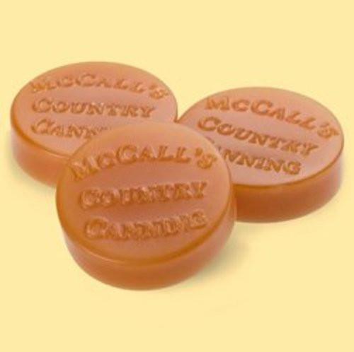 McCall's Candles Wax Melt Button Set of 6 - Orange Cranberry