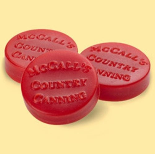 McCall's Candles Wax Melt Button Set of 6 - Fresh Strawberries
