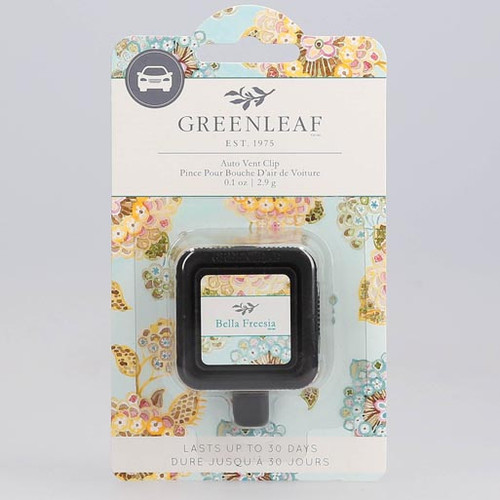 Greenleaf Auto Vent Clip - Bella Freesia