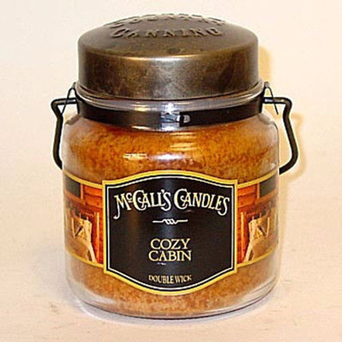 McCall's Candles - 16 Oz. Double Wick Cozy Cabin