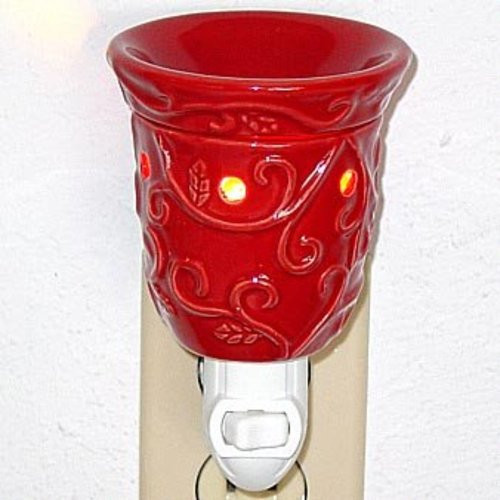 Plug-In Tart Burner - Red Design