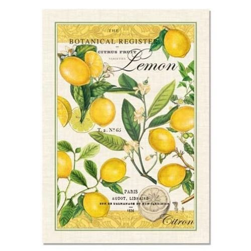 Michel Design Works Kitchen Towel - Lemon Basil
