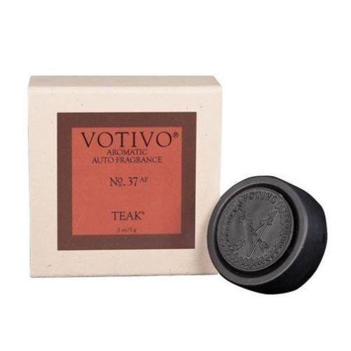 Votivo Aromatic Auto Fragrance No. 37 - Teak