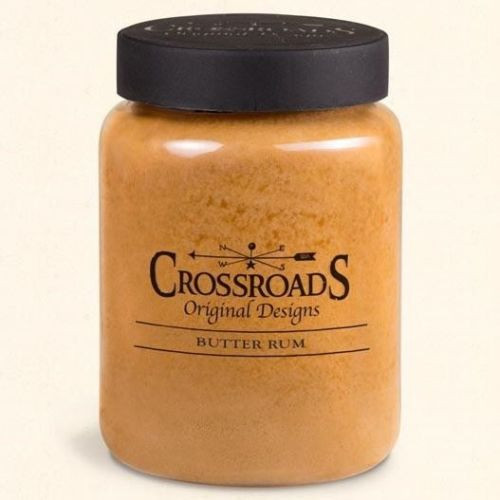 Crossroads Classic Candle 26 Oz. - Butter Rum