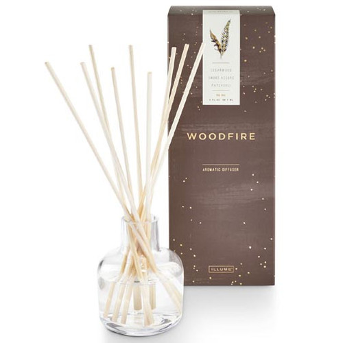 Illume Aromatic Reed Diffuser 3 Oz. - Woodfire