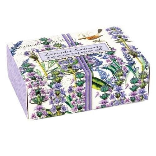 Michel Design Works Boxed Single Soap 4.5 Oz. - Lavender Rosemary