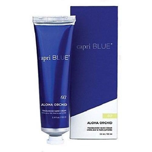 Capri Blue Hand Cream 3.4 Oz. - Aloha Orchid