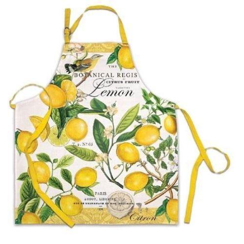 Michel Design Works Chef Apron - Lemon Basil