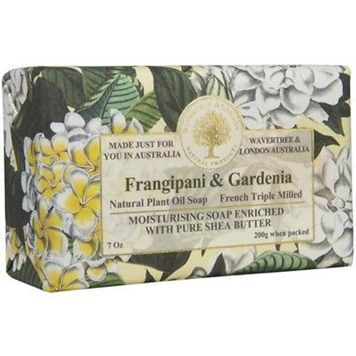 Australian Soapworks Wavertree & London 200g Soap - Frangipani & Gardenia