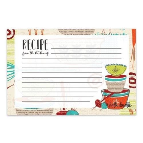 Brownlow Gifts Recipe Cards 4 x 6 - Made With Love