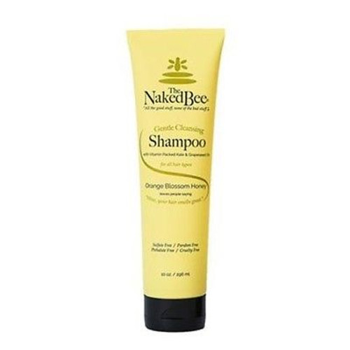 Naked Bee Gentle Cleansing Shampoo 10 Oz. - Orange Blossom Honey