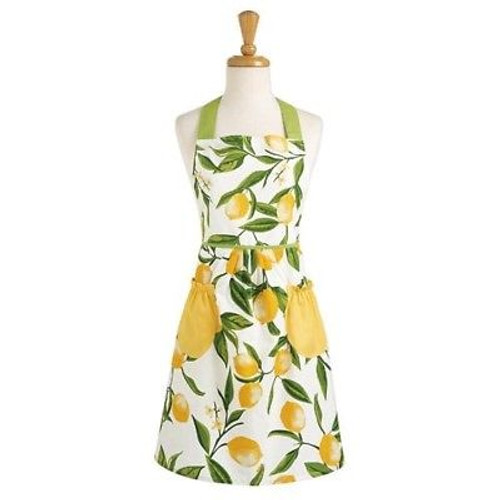 Design Imports Apron - Lemon Bliss