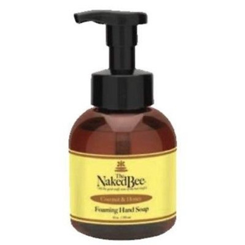 Naked Bee Foaming Hand Soap 12 Oz. - Coconut & Honey