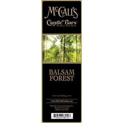 McCall's Candles Candle Bar 5.5 oz. - Balsam Forest