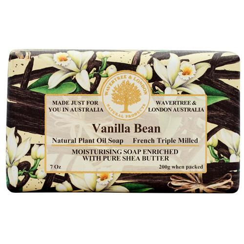 Australian Soapworks Wavertree & London 200g Soap - Vanilla Bean