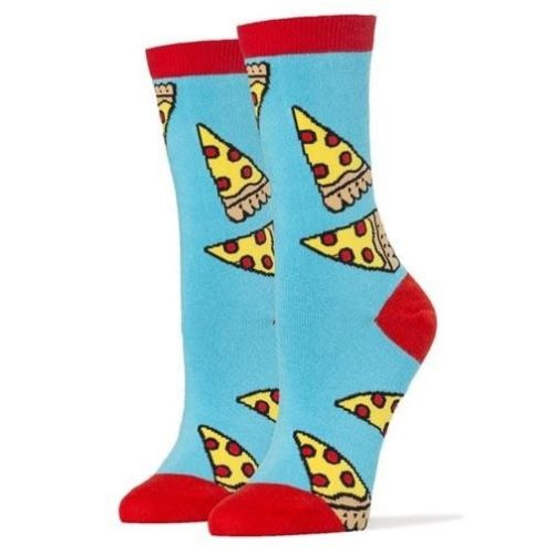 Oooh Yeah! Socks Women's Crew Socks - Pizza Party