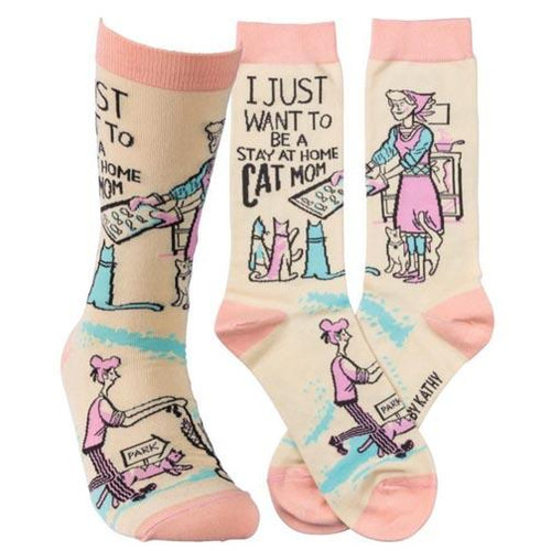 Primitives by Kathy Socks - Be A Stay At Home Cat Mom