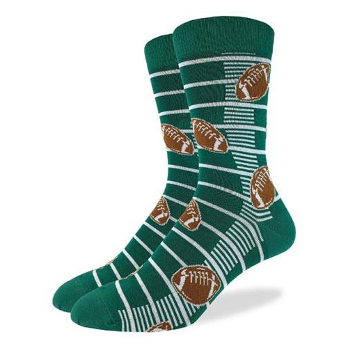 Good Luck Sock Men's Crew Socks - Football