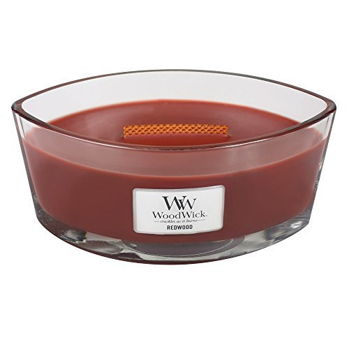 Woodwick Hearthwick Flame 16 Oz. Candle - Redwood