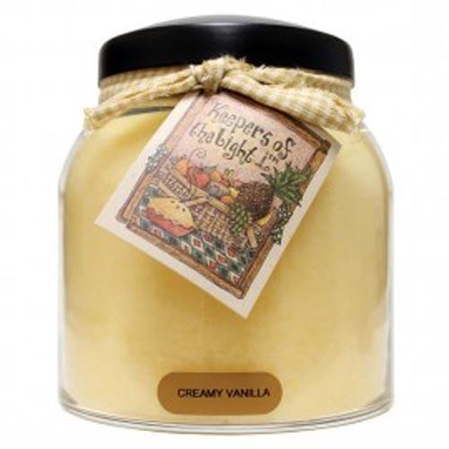 Keepers of the Light Papa Jar - Creamy Vanilla