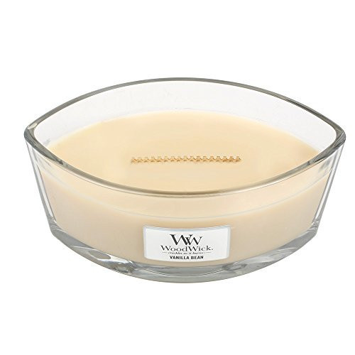 Woodwick Hearthwick Flame 16 Oz. Candle - Vanilla Bean