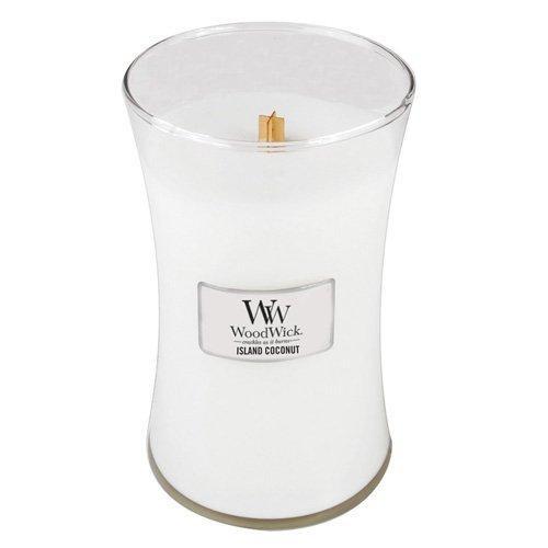 Woodwick Candle 22 Oz. - Island Coconut