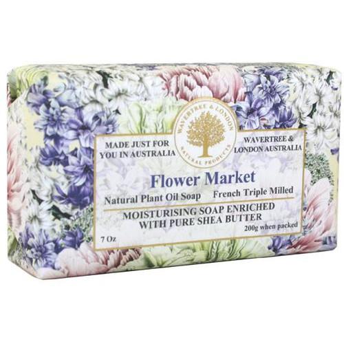 Australian Soapworks Wavertree & London 200g Soap - Flower Market