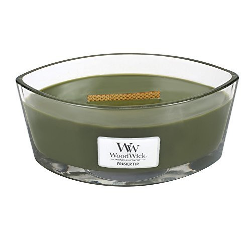 Woodwick Hearthwick Flame 16 Oz. Candle - Frasier Fir