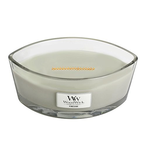 Woodwick Hearthwick Flame 16 Oz. Candle - Fireside