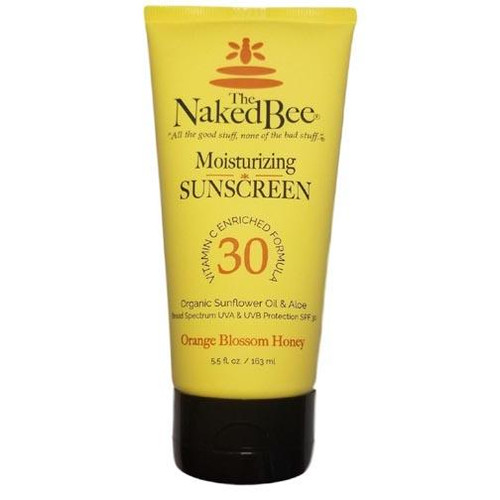 Naked Bee Vitamin C Sunscreen SPF 30 5.5 Oz.