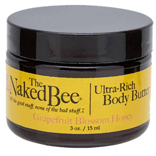 Naked Bee Body Butter 3 Oz. - Grapefruit Blossom Honey