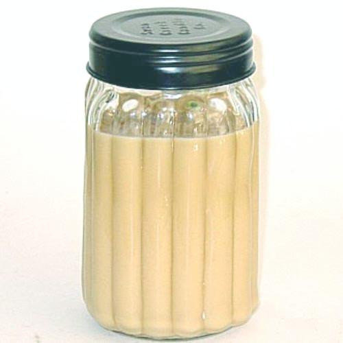 Swan Creek 100% Soy Homespun 24 Oz. Jar Candle - Cinnamon Hazelnut Latte
