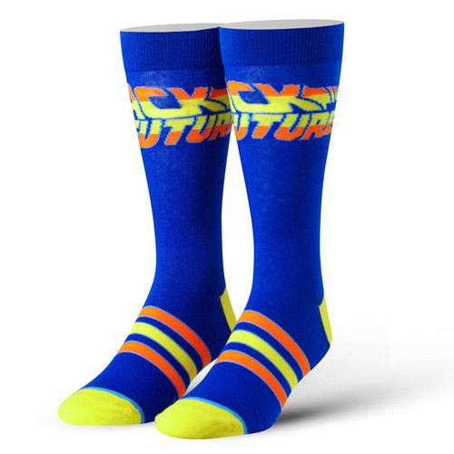 Cool Socks Men's Crew Socks - Back to the Future