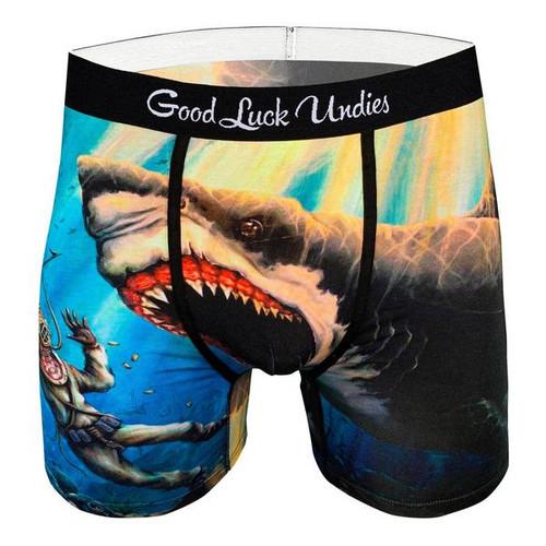 Good Luck Undies Boxer Briefs - Shark Attack