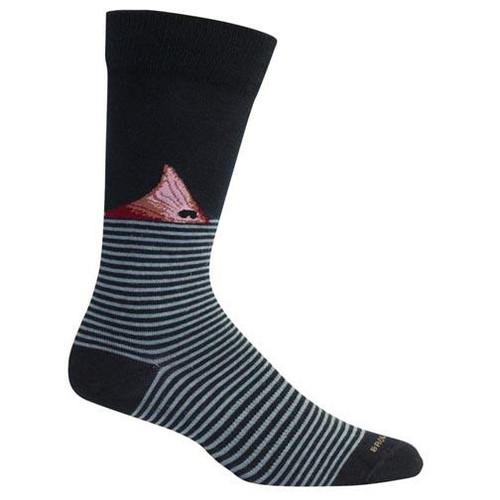 Brown Dog Hosiery Men's Socks - Fort Fisher Navy