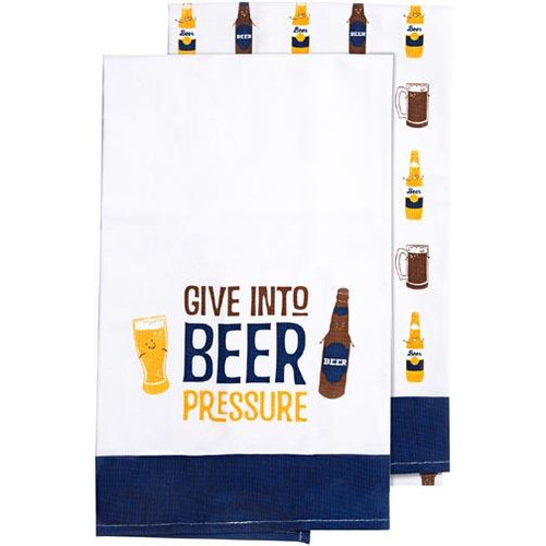 Pavilion Tea Towel Gift Set of 2 - Beer